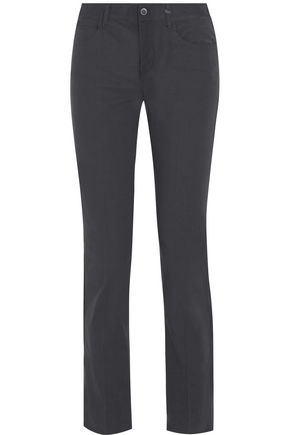 HELMUT LANG Stretch-cotton slim-leg pants