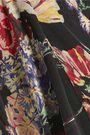 HAUTE HIPPIE Fanfare printed silk wide-leg pants