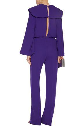 EMILIA WICKSTEAD Mitchel wool-crepe jumpsuit