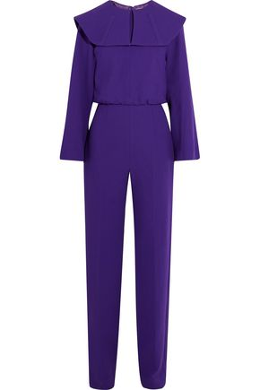 EMILIA WICKSTEAD Mitchel wool-crepe jumpsuit