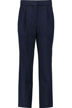 SONIA RYKIEL Wool-crepe straight-leg pants