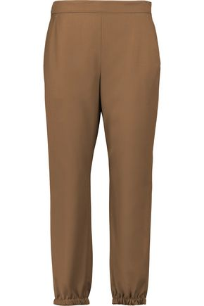 SONIA RYKIEL Wool-crepe tapered pants