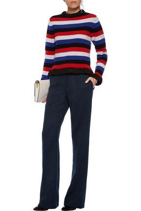 SONIA RYKIEL Wool-blend bootcut pants