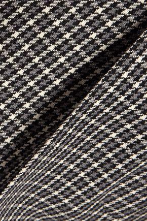 SONIA RYKIEL Houndstooth wool straight-leg pants