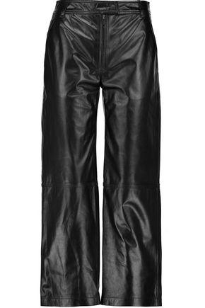 RAG & BONE Otille leather wide-leg pants