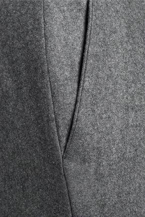 CARVEN Wool-flannel straight-leg pants