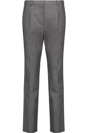 CARVEN Wool-flannel straight-leg pants