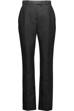 CARVEN Cotton-blend gabardine straight-leg pants