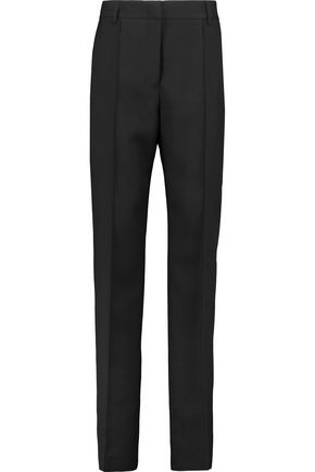JIL SANDER Wool-twill tapered pants