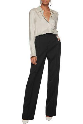 JIL SANDER Wool-twill tapered pants