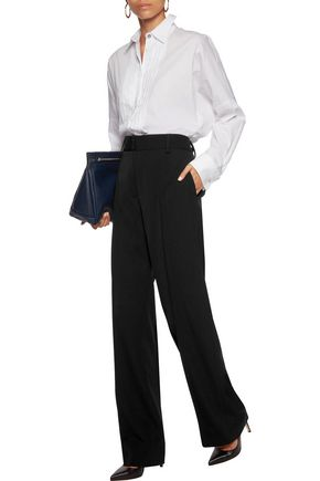 JIL SANDER Wool straight-leg pants