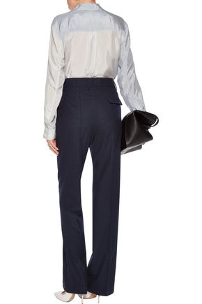 JIL SANDER Wool-blend tapered pants