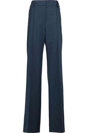 JIL SANDER Wool-blend wide-leg pants