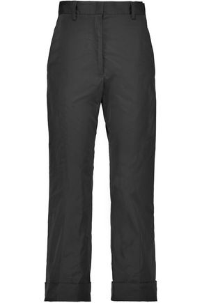 JIL SANDER Satin tapered pants