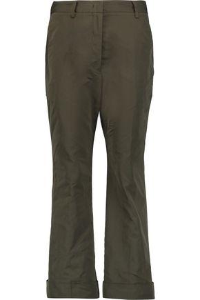 JIL SANDER Satin tapered pants