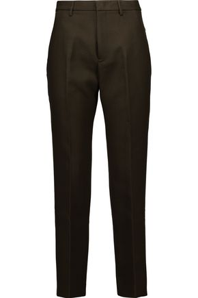 JIL SANDER Wool tapered pants