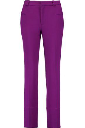 ROLAND MOURET Lacerta wool-crepe slim-leg pants