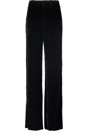 VINCE. Velvet wide-leg pants