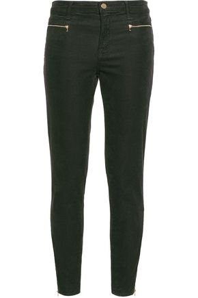 J BRAND Cotton-blend corduroy skinny pants