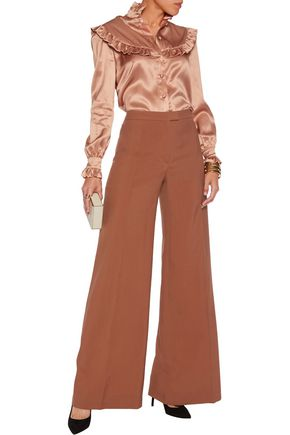 NINA RICCI Wool wide-leg pants