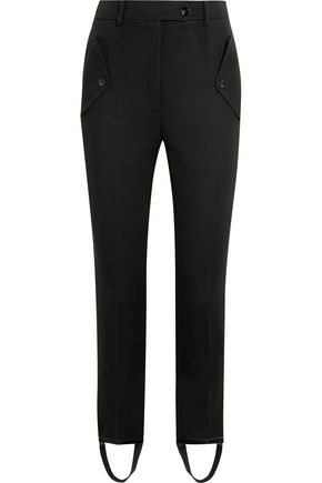 NINA RICCI Wool slim-leg pants