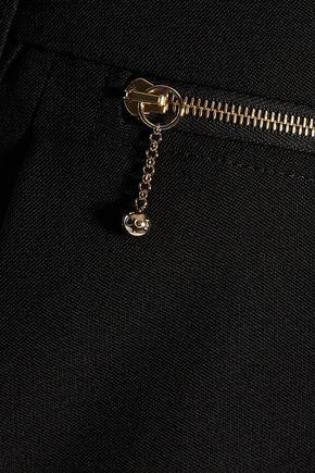 NINA RICCI Wool-crepe flared pants