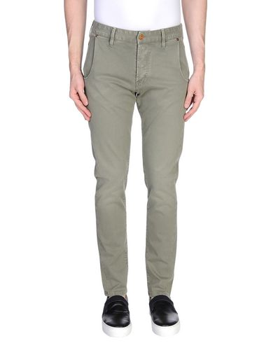 Фото - Повседневные брюки от RA-RE цвет зеленый-милитари