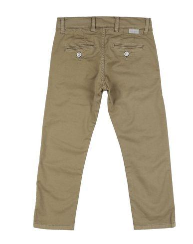 Фото 2 - Повседневные брюки от PAOLO PECORA цвет зеленый-милитари