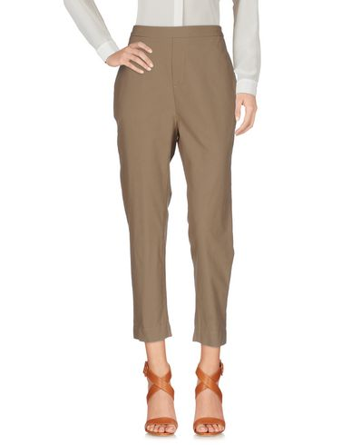 Фото - Повседневные брюки от SIBEL SARAL цвета хаки