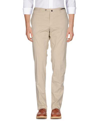Фото - Повседневные брюки от PT01 бежевого цвета