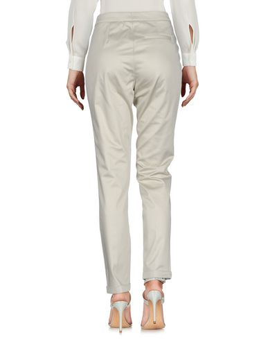 Фото 2 - Повседневные брюки от FABIANA FILIPPI светло-серого цвета