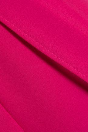 HALSTON HERITAGE Strapless georgette jumpsuit