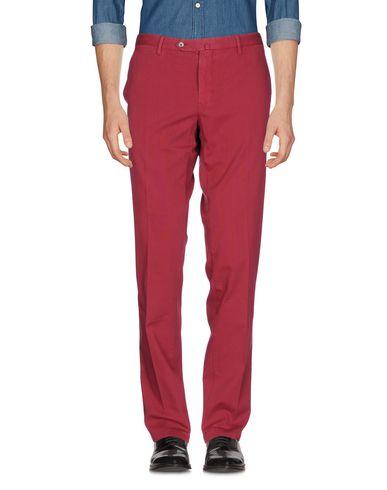 Фото - Повседневные брюки от PT01 красно-коричневого цвета