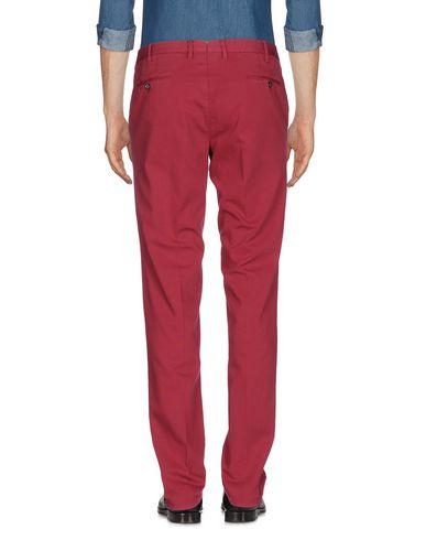 Фото 2 - Повседневные брюки от PT01 красно-коричневого цвета