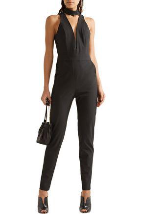 MICHELLE MASON Cutout stretch-crepe jumpsuit
