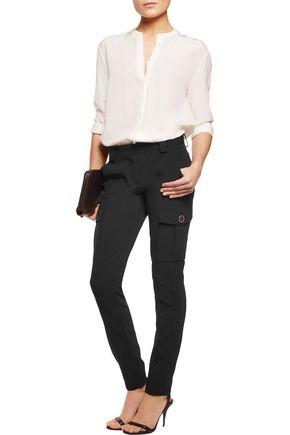 DKNY Twill slim-leg pants