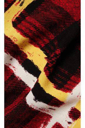 MARC BY MARC JACOBS Printed crepe slim-leg pants