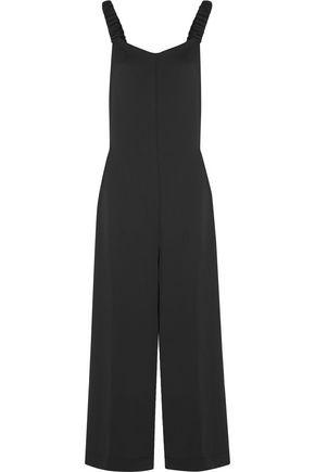 PAPER London Zayn open-back satin-crepe jumpsuit