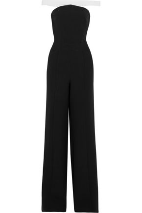 SAFIYAA Off-the-shoulder crepe jumpsuit
