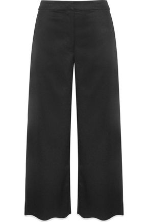 SACHIN & BABI Folktale cropped faille wide-leg pants