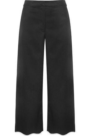 SACHIN & BABI Folktale cropped faille wide-leg pants