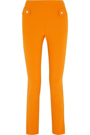 CARVEN Twill slim-leg pants