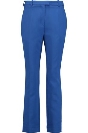 CARVEN Wool-twill straight-leg pants