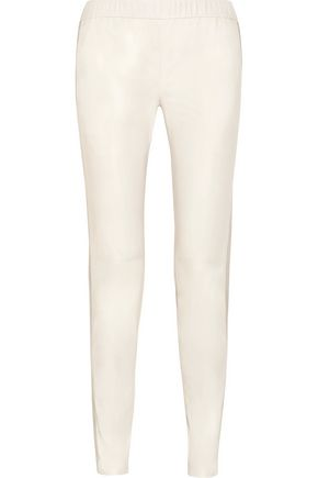 J BRAND Masako leather tapered pants