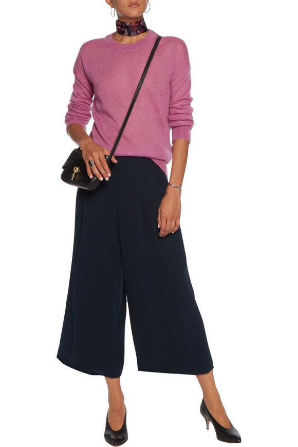 Holly stretch-cady culottes | DIANE VON FURSTENBERG | Sale up to 70% off |  THE OUTNET