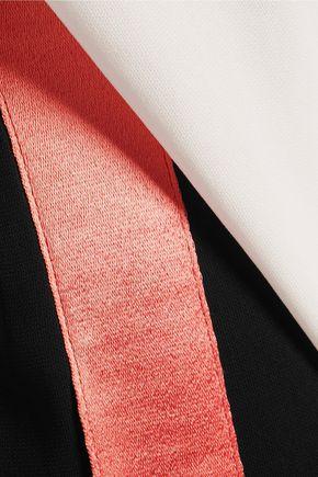 DIANE VON FURSTENBERG Amare strapless draped crepe jumpsuit