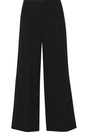 THEORY Terena cropped crepe wide-leg pants