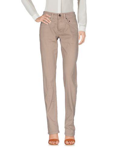 Фото - Повседневные брюки от SIVIGLIA DENIM бежевого цвета