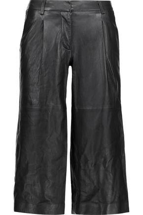 MICHAEL MICHAEL KORS Leather culottes