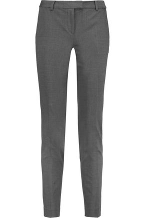 MICHAEL MICHAEL KORS Wool-blend slim-leg pants